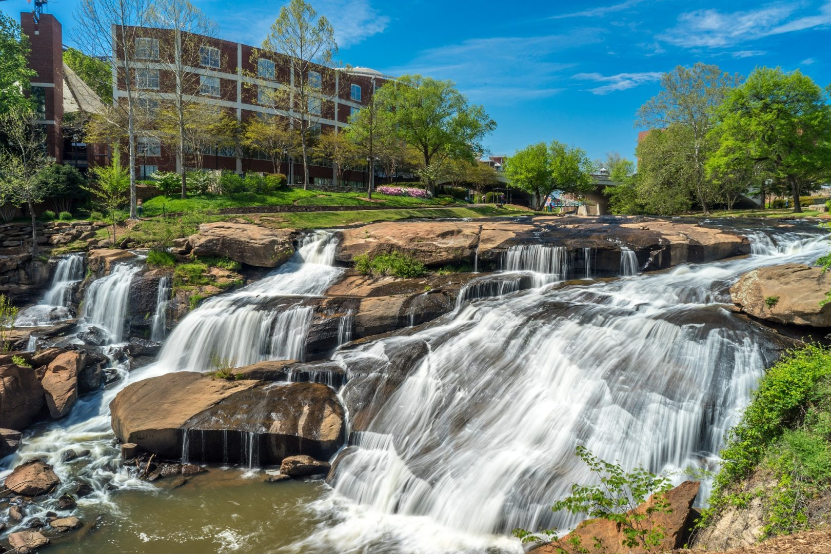 Downtown Greenville South Carolina