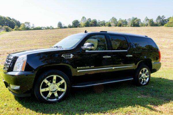 Van in Black - SUV