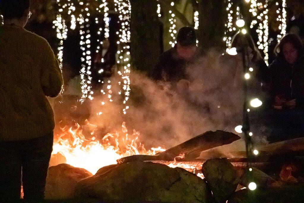 Campfire at Biltmore Winery