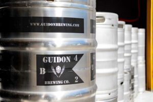 Guidon Brewing Company Kegs