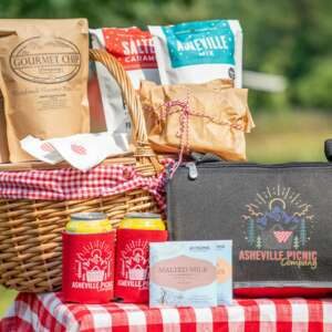 Asheville Picnic Company Picnic Basket